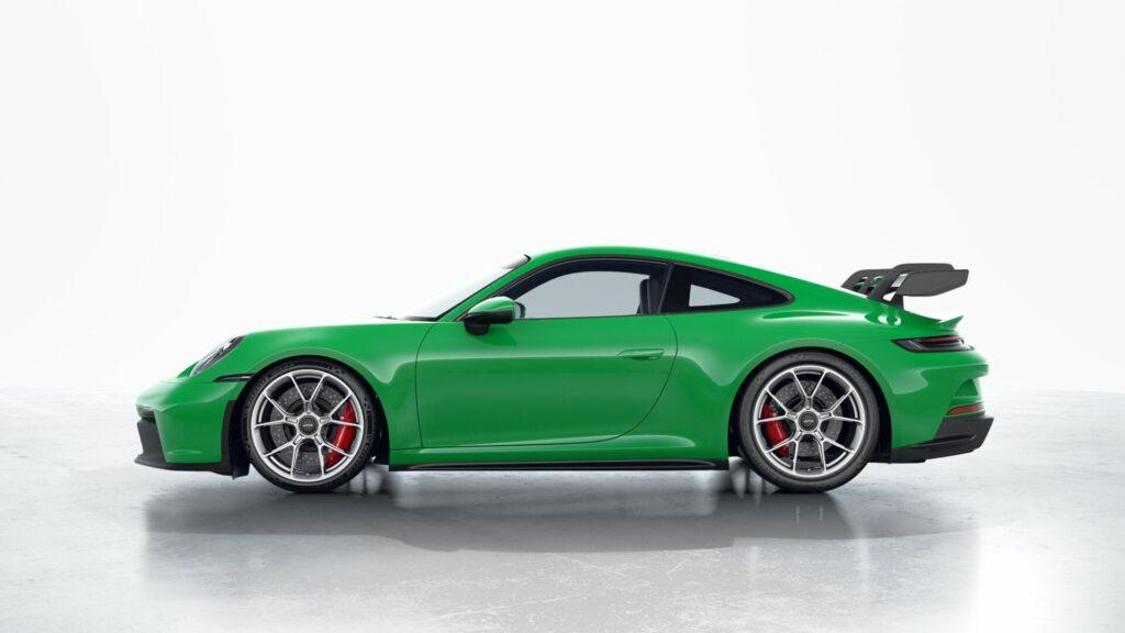 2022 Porsche 911 GT3 In Python Green (Special)