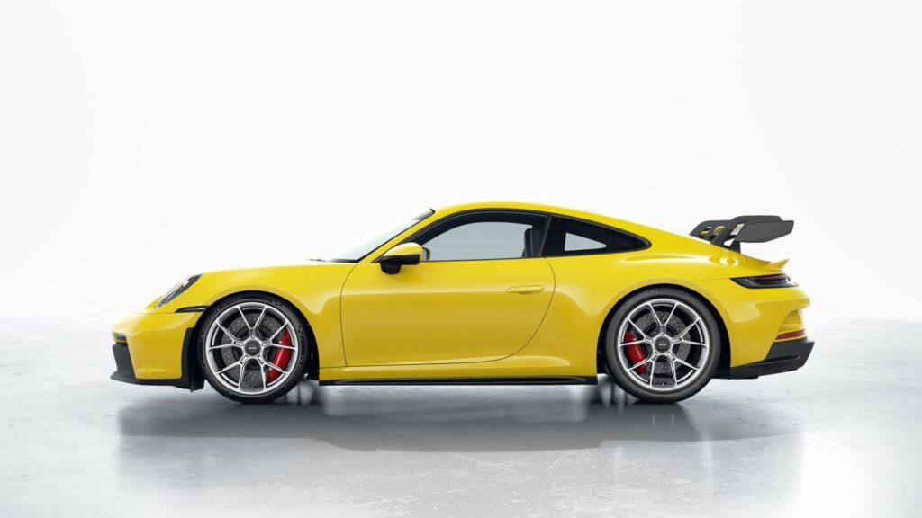 2022 Porsche 911 GT3 In Racing Yellow (Standard)