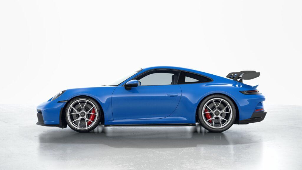 2022 Porsche 911 GT3 In Shark Blue (Special)