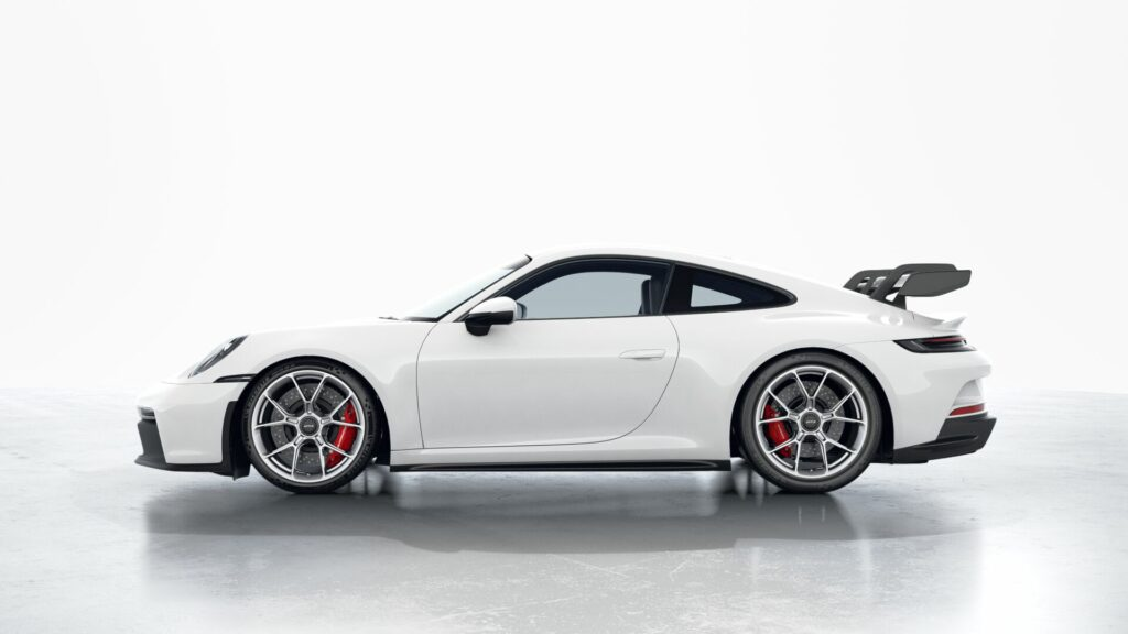 2022 Porsche 911 GT3 In White (Standard)