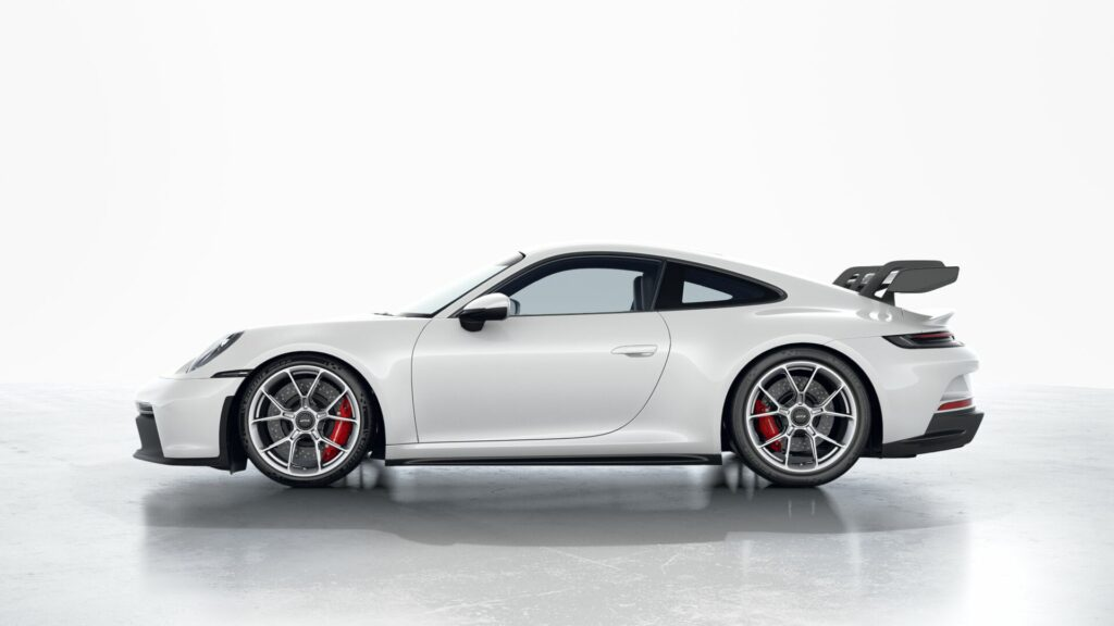 2022 Porsche 911 GT3 In Carrera White (Metallic)
