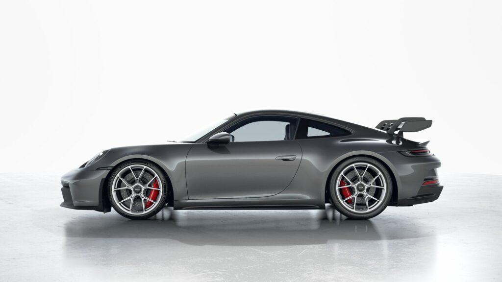 2022 Porsche 911 GT3 In Dolomite Silver (Metallic)