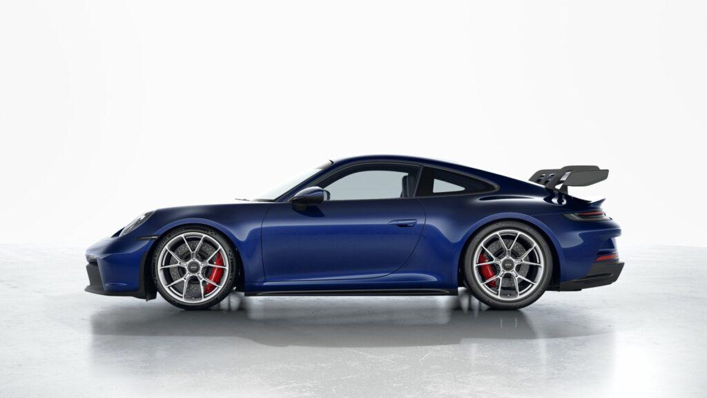 2022 Porsche 911 GT3 In Gentian Blue (Metallic)