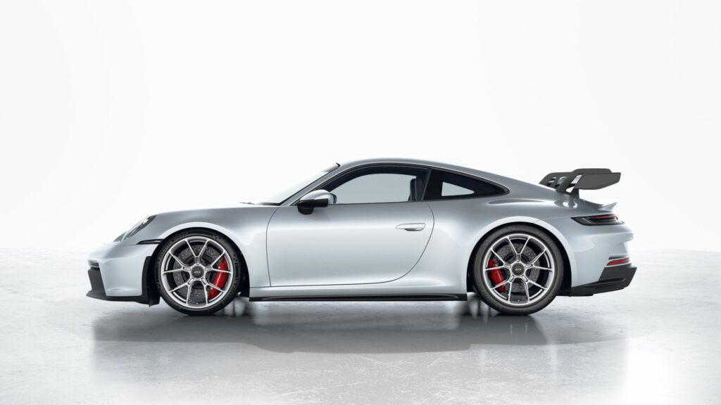 2022 Porsche 911 GT3 In GT Silver (Metallic)