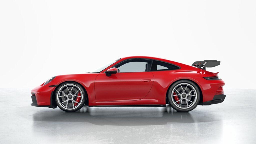 2022 Porsche 911 GT3 In Guards Red (Standard)