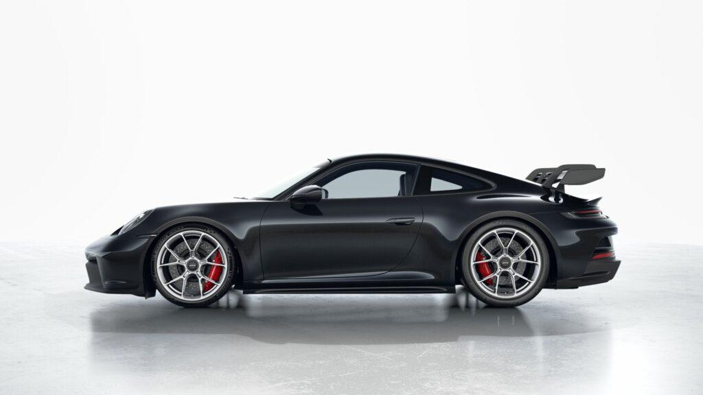 2022 Porsche 911 GT3 In Jet Black (Metallic)