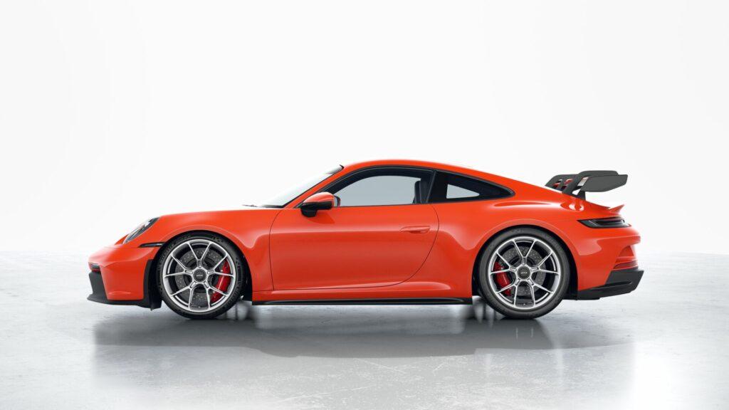 2022 Porsche 911 GT3 In Lava Orange (Special)