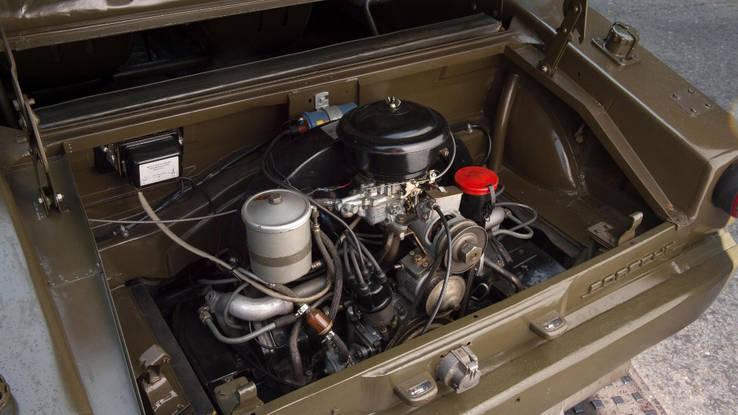 1957 Porsche Jagdwagen engine