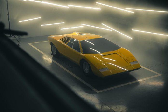 Lamborghini Countach restoration