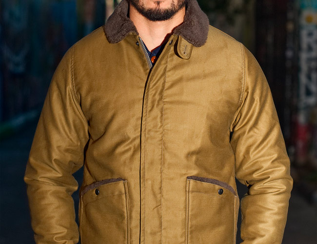 This Japanese-Made Flight Jacket Is Lined with Alpaca Fleece