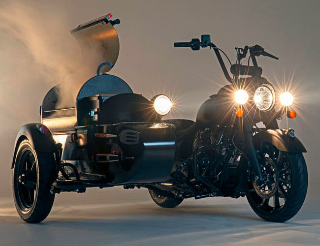 This Motorcycle–Barbeque Grille Combo Is the Greatest Thing We've Seen All Week