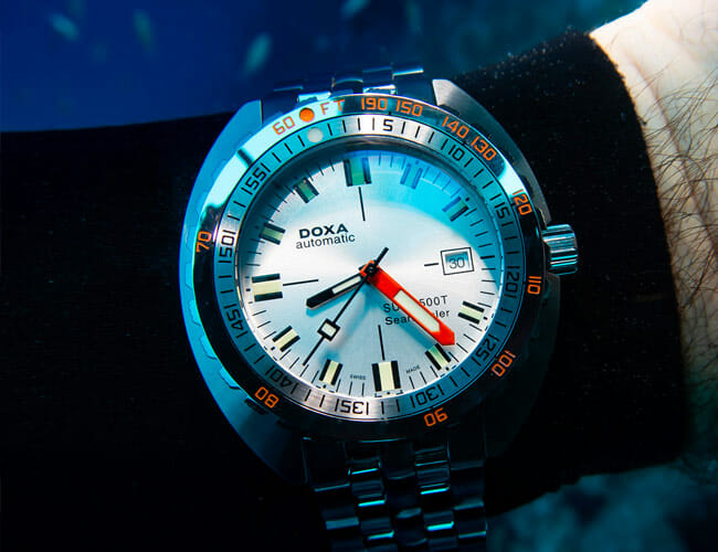 Diving With Doxa Watches in Bonaire