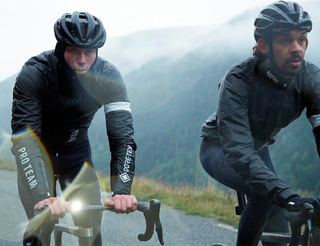 Foul Weather Is No Match for Rapha's New Gore-Tex Cycling Gear