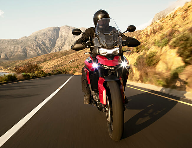 Triumph's New Adventure Bike Is Made for Long Rides and Getting Dirty
