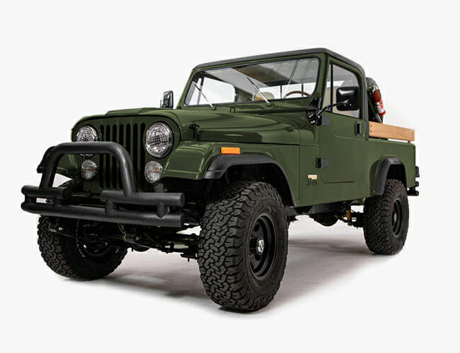 Ball and Buck Is Whipping Up a Line of Gorgeous Vintage Jeep Trucks