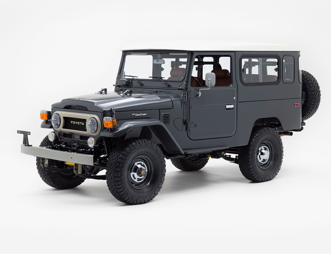 Why Todd Snyder Put Red Wing Leather into a Vintage Toyota Land Cruiser