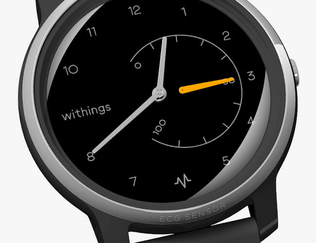Need an ECG? Withings' Newest Smartwatch Can Take One