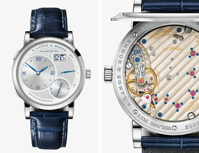 Die-Hard Watch Collectors Will Love Lange's Latest Limited Edition