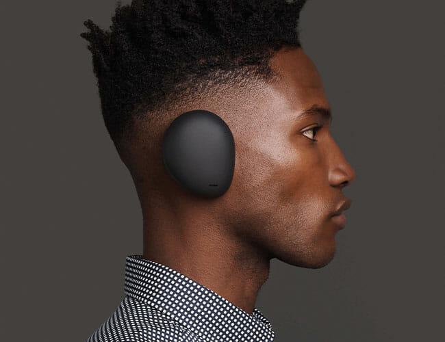 The First True Wireless 'Over-Ear' Headphones Look Strange as Hell