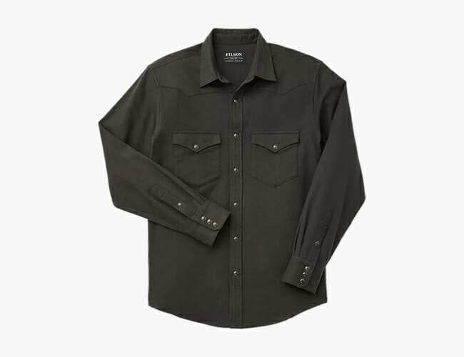 Your Wardrobe Needs Filson's Quintessential Western Shirt