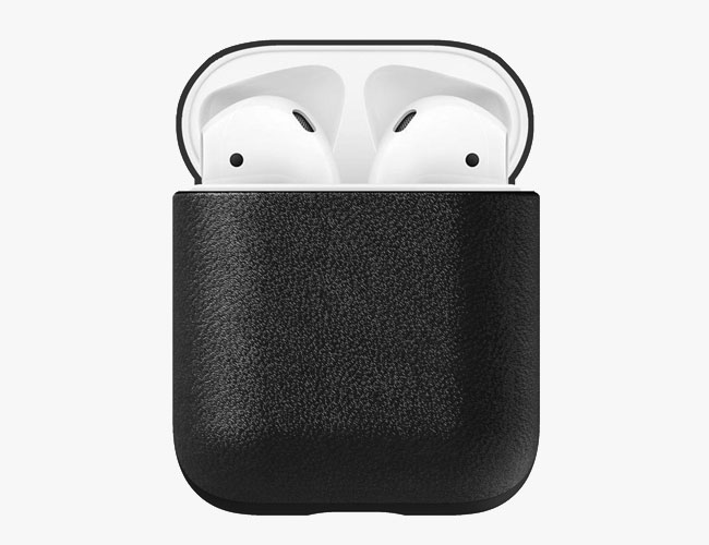 This $30 Leather Case Will Black-Out Your AirPods
