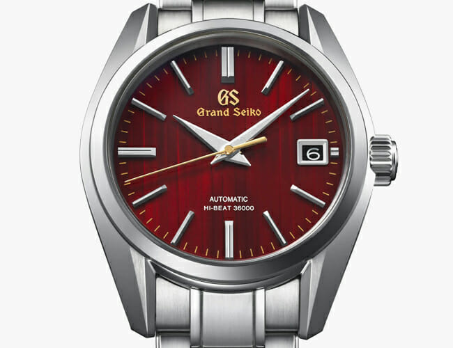 Grand Seiko's Newest Watch Is a Captivating Tribute to Fall Colors