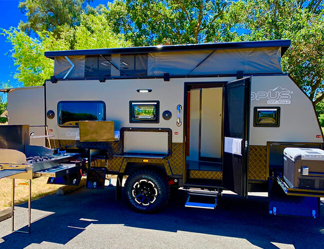 Live Your Best Overlanding Life With This Pop-Top Camping Trailer