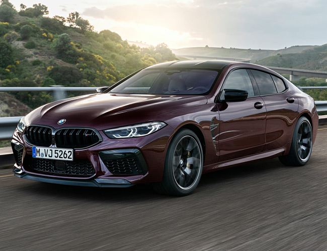 BMW's M8 Gran Coupe Is the Brand's Sexiest Sedan Yet