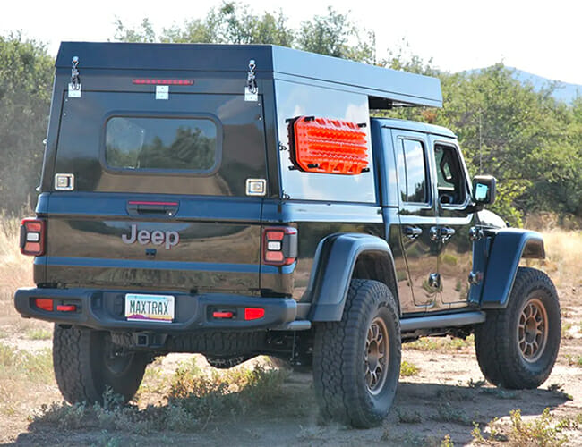 Turn Your Jeep Gladiator Into an Overlanding Camper With This Truck Topper