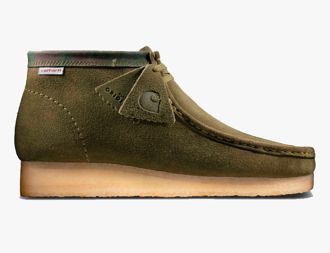 Carhartt WIP Updated These Iconic Clarks Boots