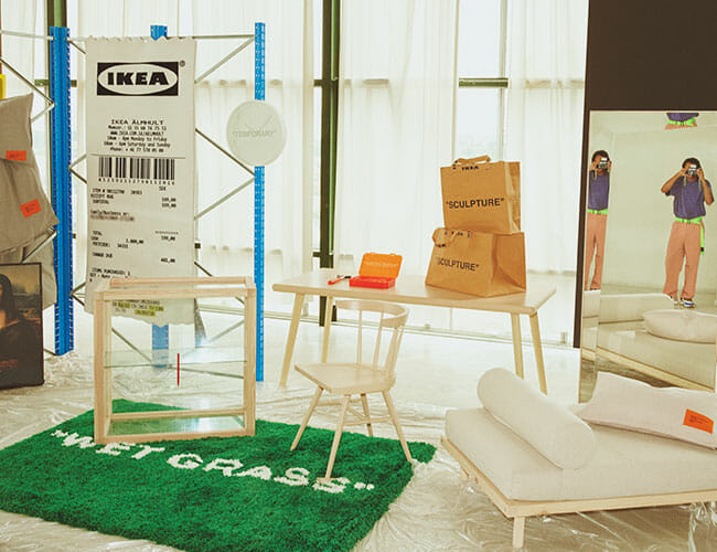Ikea's New Collection with Virgil Abloh Is Every Bit as Weird as You'd Expect