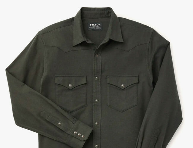 Filson's New Western Shirts Are the Perfect Companions for Fall