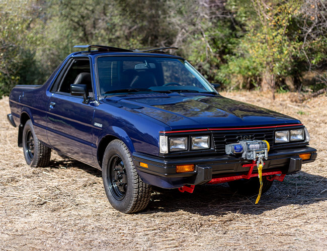 Want a Funky Vintage Off-Roader on the Cheap? Check Out This Subaru Pickup