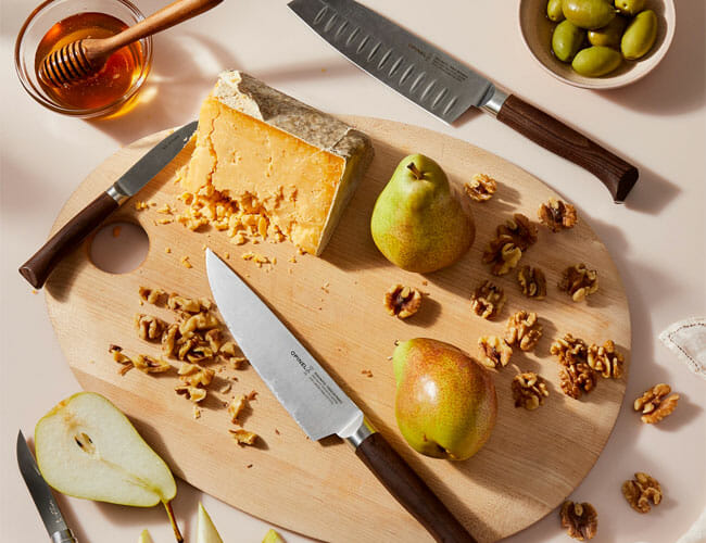 These Gift-Worthy Kitchen Knives Were Made By a Famous Pocket Knife Maker