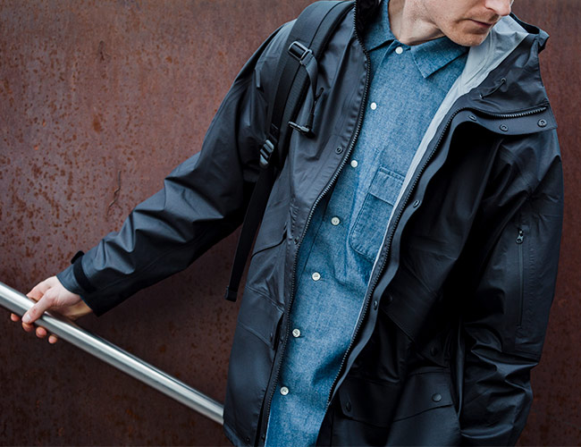 Goldwin's Latest Collection Is Sleek, Urban and Ready for the Rain