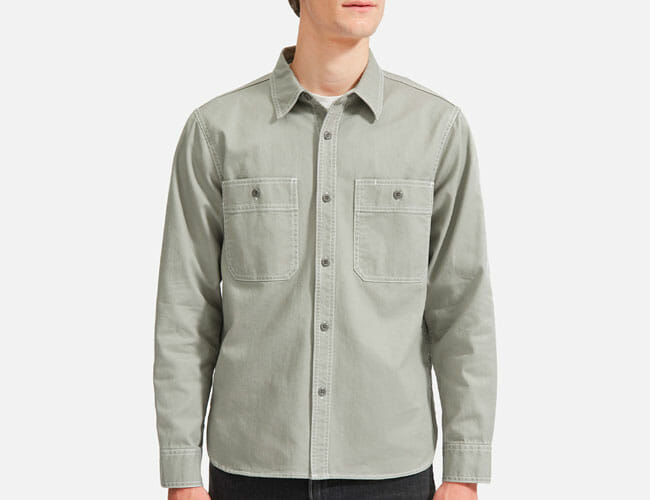 Pick up This Affordable Overshirt Before the Fall Weather