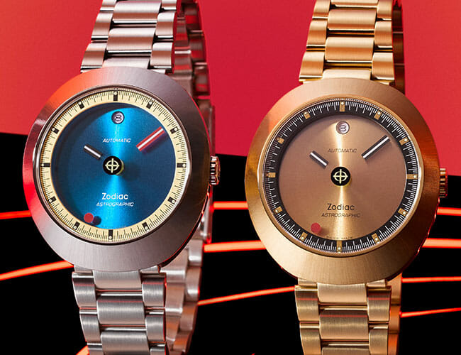 This Funky Retro Watch Features Unique and Mysterious 'Floating' Hands