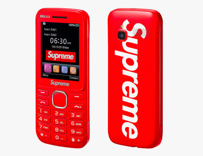 Supreme's Upcoming Smartphone Is a Blast From the Past