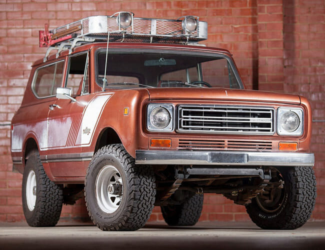 This International Harvester Scout Wears Its Original Charm With Pride