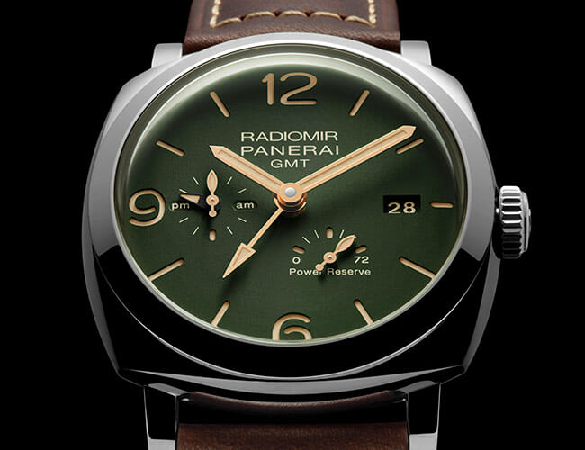 These Green-Dial Watches Reference Panerai's Military Roots