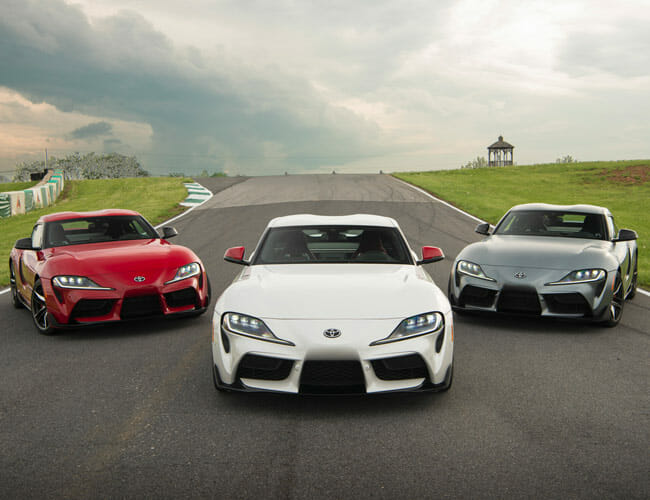 The Toyota Supra Could Get a Big Power Boost, Thanks to the BMW M3