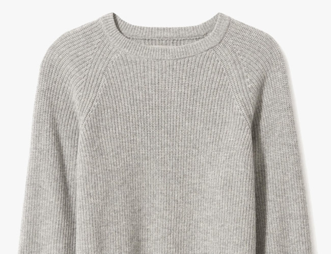 One of Our Favorite Affordable Cashmere Brands Just Beefed up Its Winter Sweaters