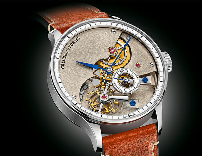 Completely Handmade Watches Such as These Are Almost Unheard Of