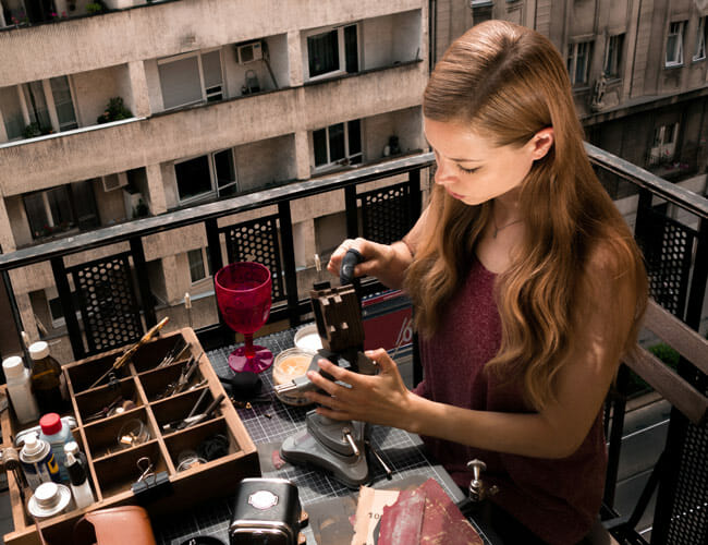 The Woman Behind Some of the Most Beautiful Handcrafted Cameras