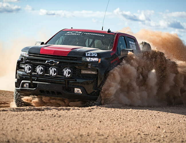 Does This Silverado Race Truck Hint at Chevy's Ford Raptor Killer?
