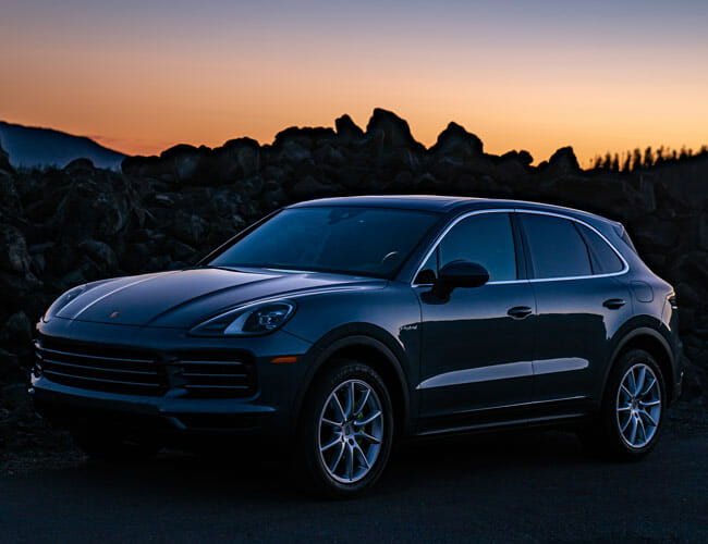 Following in NASA's Footsteps in a Pair of High-Tech Porsche Cayenne Hybrids