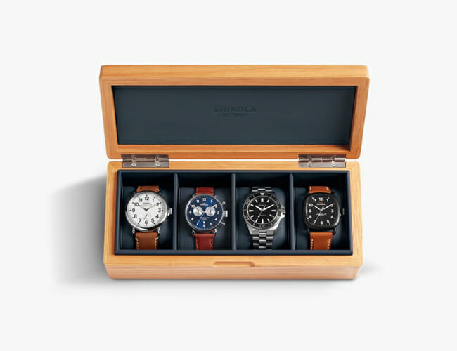 This Is the Perfect Storage Solution for a Small Watch Collection