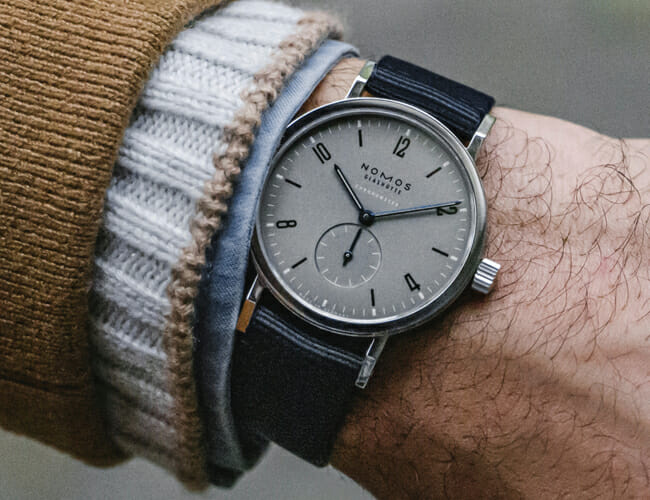 Hodinkee Teamed Up with Nomos on This Special Edition Watch
