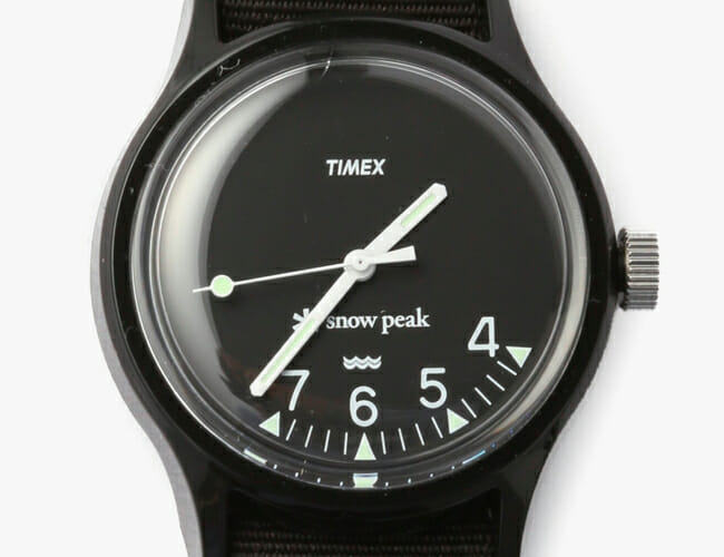 Timex Partnered with a Japanese Outdoor Brand on This Ultra-Affordable Field Watch
