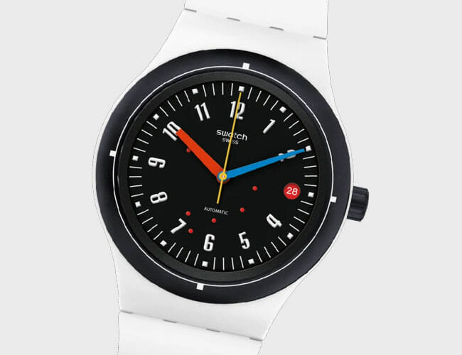 These Affordable Swatch Watches Celebrate 100 Years of the Bauhaus